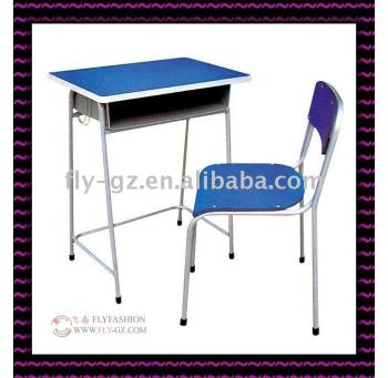 Middle School Student Desk And Chair/ Using Cheap Blue Primary School Desks  And Chairs For