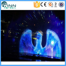 3D Outdoor Laser Holographic Projector Water Screen Movie Musical Fountain