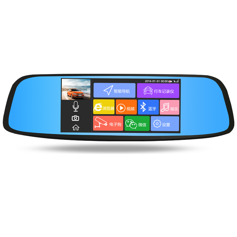 Promotional smart rearview mirror 188 camera user manual fhd 1080p car camera dvr video recorder car dash cam