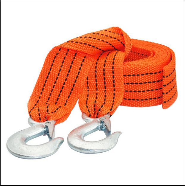 Новое 4 м 3 тонны буксировочный кабель буксировка ремень веревка с крючками аварийного тяжелой эвакуатор о . м .