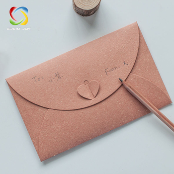 Printed Logo Wedding Envelope Box Envelope With Window - Buy ...