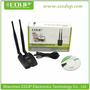 EDUP EP-MS8515GS mini wifi adapter for iphone external 2x 6dbi antenna