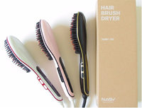 Pro ceramic natural hair titanium flat iron round shaped create your own brand steam iron 2016 best steam hair straightener