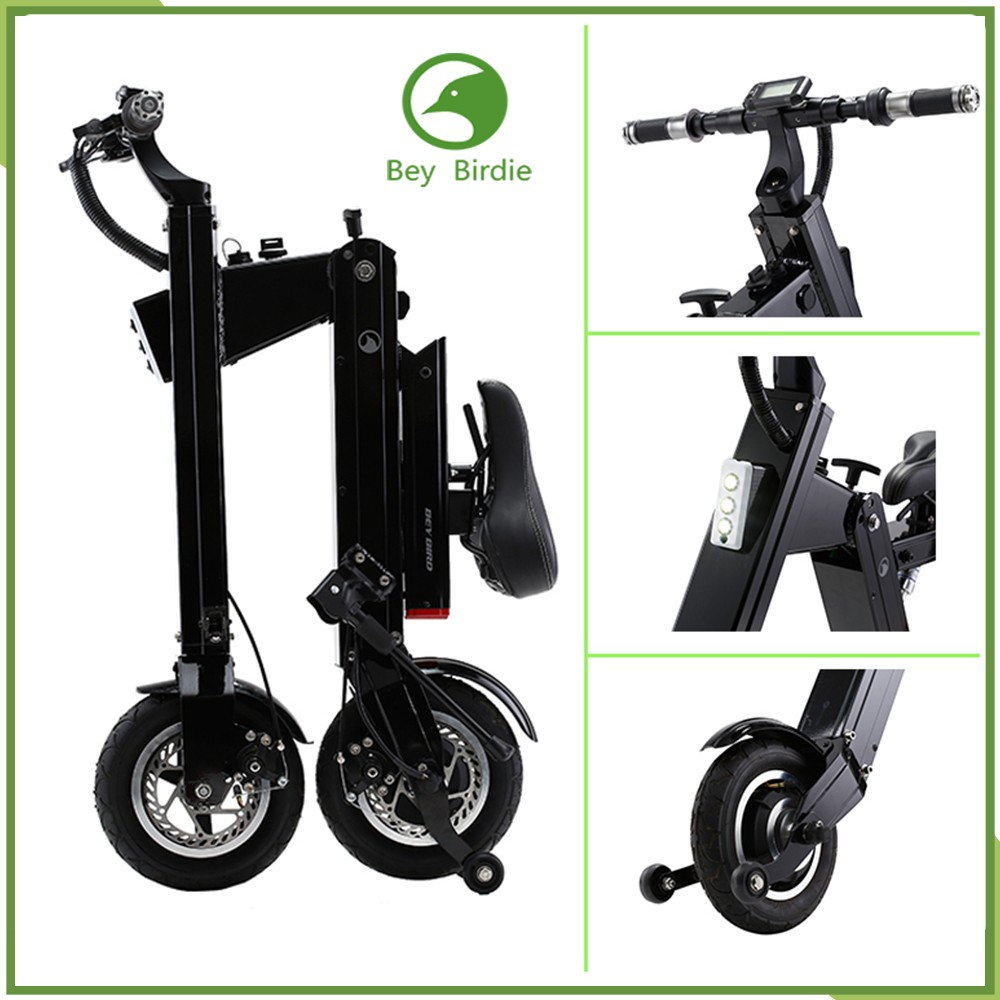 Green electric <strong>city</strong> bike wholesale folding electric scooter Made in China