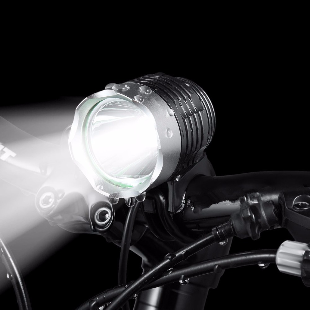 1800 Lumen Cree XML T6 LED Bike Bicycle Light Lamp + Battery Pack + Charger, 4 Switch Modes фото