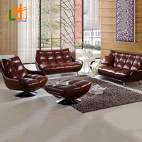 China Manufacturer Classic Sectional Recliner Sofa Set Genuine Leather Modern Office Sofa Chair