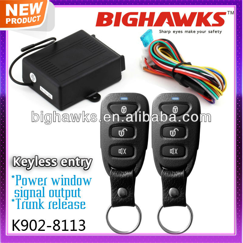 keyless entry system BIGHAWKS K902 8113 keyless entry system bighawks k902 8113 buy keyless entry system  at gsmx.co