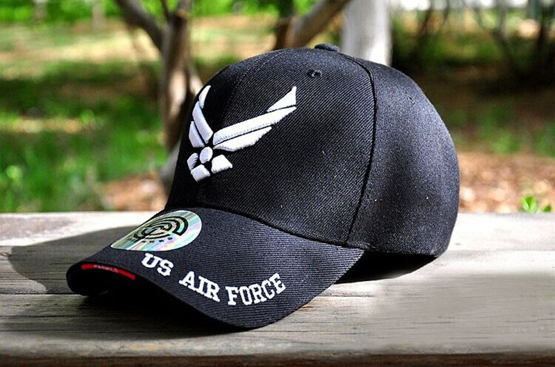 20d0dfd64d8 Outdoor US Air Force hats Casual Tactical Baseball Cap Cycling Beisebol Cap  Army Sport Men Mountaineer embroidery Shade Caps. 13. 2 7 6