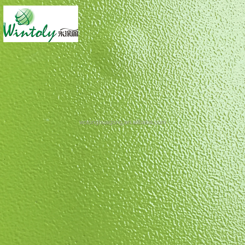 Polyester  texture metal coating powder for outdoor use
