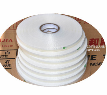 Resealable adhesive tape for sealing opp , pp bags