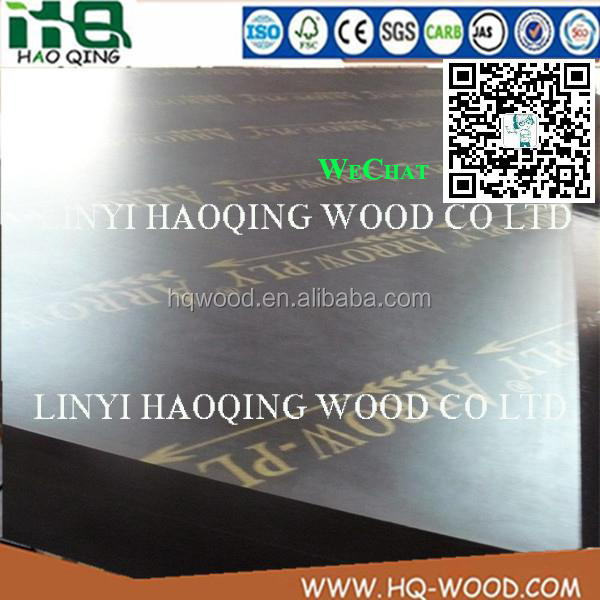Phenolic board to Philippines market ,Arrow -Ply Dynea Film faced Phenolic board