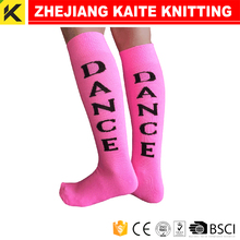 KT-P-0639 knee high socks with words