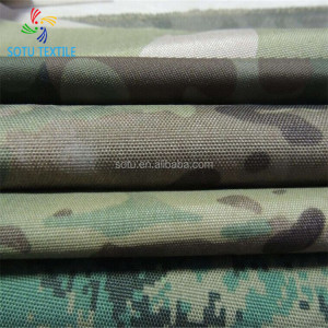 100% nylon printed 500D cordura Fabric coated