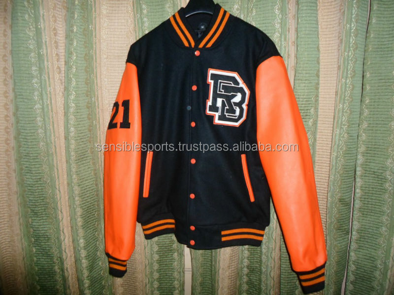2014 latest design fashion varsity jacket Australia