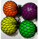 Mesh Ball 60mm Squishy Grape Stress Relief Toys Relaxation Hand Therapy Ball Net Color Random