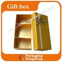 Gift Box 3 CELLS empty container for chocolates/Sweets/Candies holidays