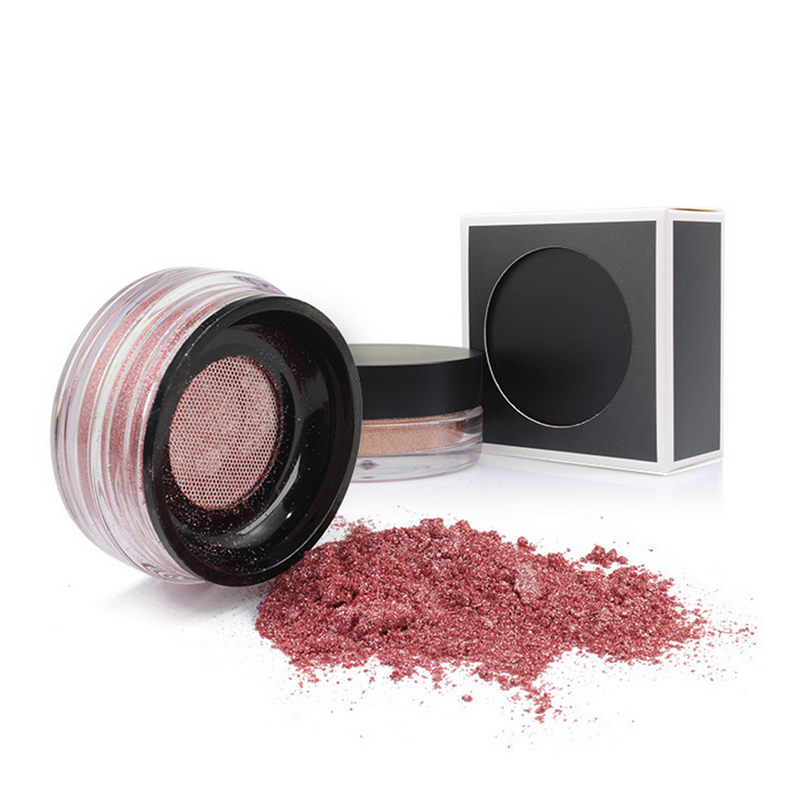 Cruetly Free Unbranded makeup face private label loose highlighter powder makeup