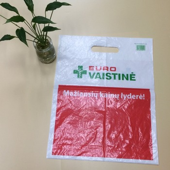 100 Biodegradable Hdpe Ldpe Die Cut Plastic Bag Patch