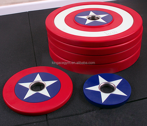 Commercial Gym Equipment/ PU Bumper Plates/ Weight Plates