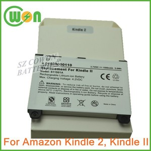 3.7V 1500mAh DR-A011 Battery for Amazon Kindle II DX Book eReader