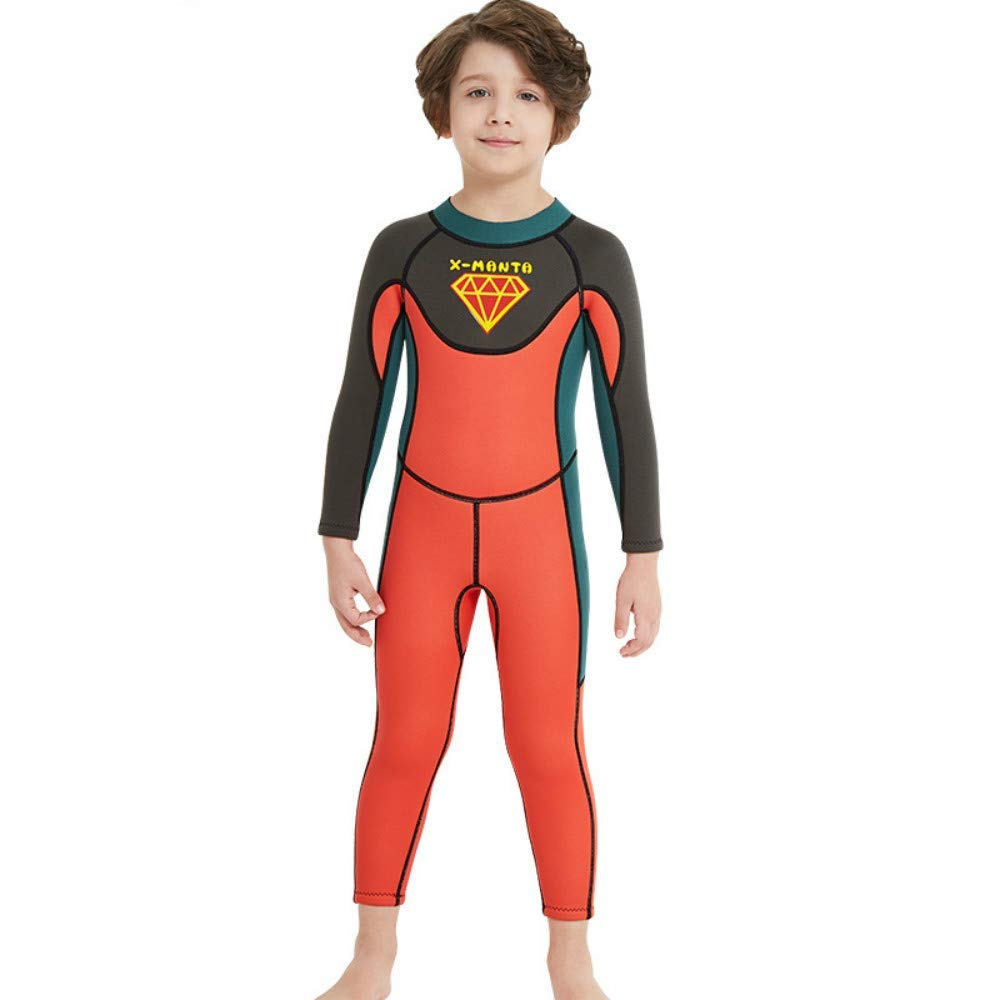 Get Quotations · Toogou Dive   SAIL Kid s Wetsuit 2.5mm Neoprene Keep Warm  for Diving Swimming Canoeing UV 35ad6b3d2