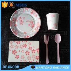 18cm Paper Plate for party disposable paper plate