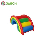 Indoor Soft Play Toys Rainbow Bridge for kids climbing