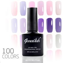 100 Color Nail Gel Polish Gel Long-lasting Soak-off LED UV Gel High Quality Nail Polish Hot Nail Gel 10ml/Pcs Nail Art Tools-NG3