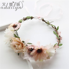 New Hair Style Artificial Flower Making Machines Advent Wreath