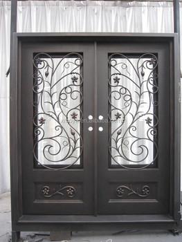 Wrought Iron Exterior Door Full Design