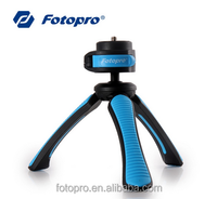 Fotopro colorful mini plastic table tripod camera stand table smartphone tripod SY-310