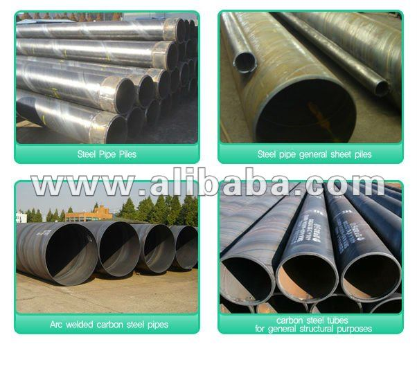 SPIRAL STEEL PIPES & TUBULARS