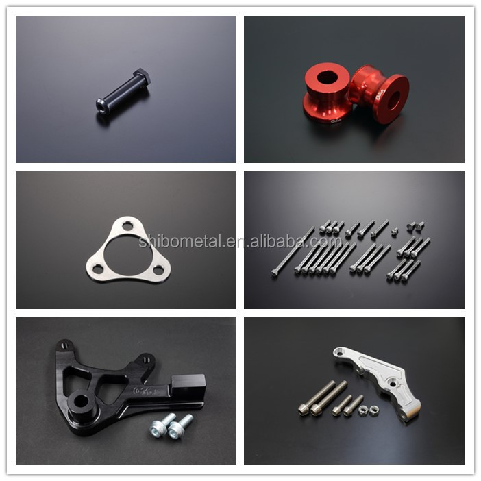China manufacturers supply cnc machine parts of refitting motorcycle exhaust &  lighting accessories