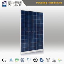 China Best Pv Supplier Perlight Solar 260W Panels Photovoltaic 260W Solar Panel