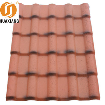 Houses Plan Synthetic Resin Roof Tile/free Samples Building Materials ASA  Plastic Pvc Tile Roofing