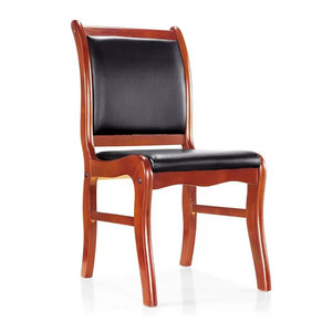 office leather conference chair wood no arms