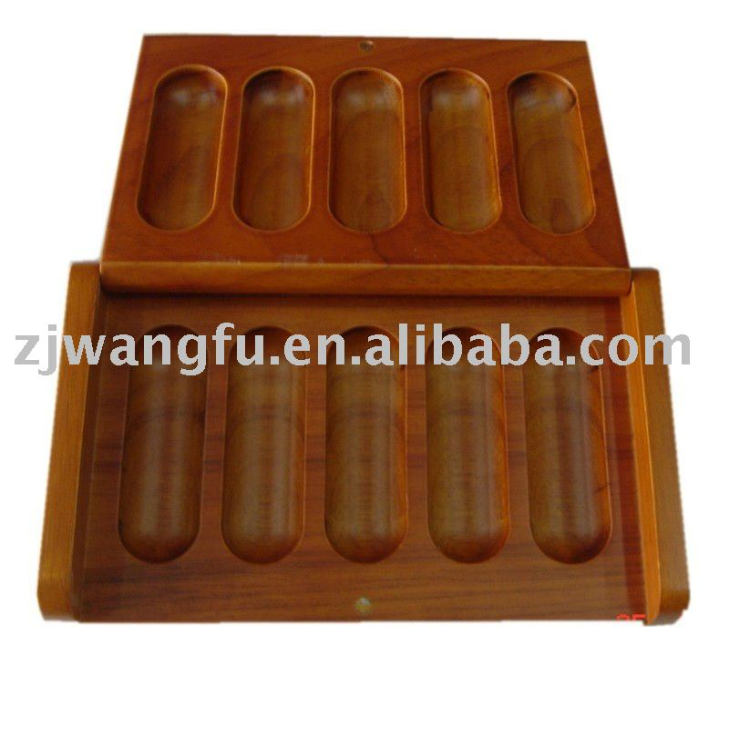 solid wood olive oil packing box