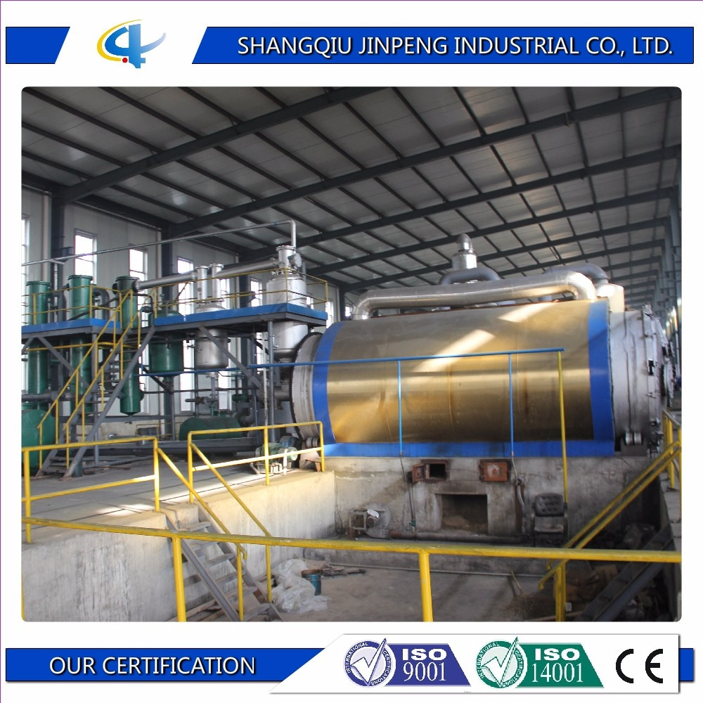 New Technology Plastic Recyling Machine to Oil Pyrolysis Equipment For Sale