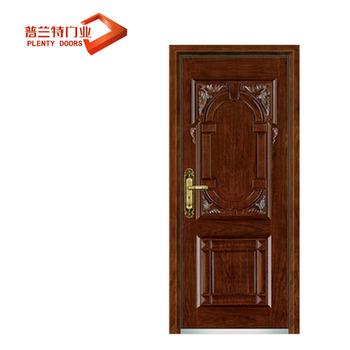 Türkische Holz Türen Stahl Woden Gepanzerte Tür