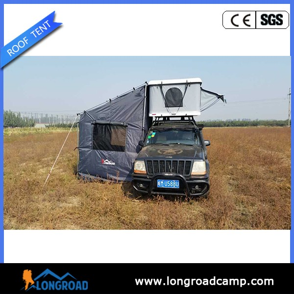 Trailers Hard Shell Roof Top Tent Annex