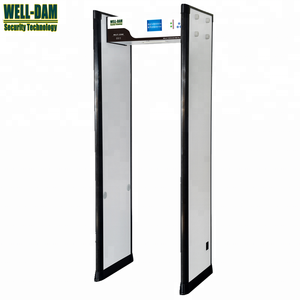 WD-700 multi zones bomb detector gate,door frame metal detector price