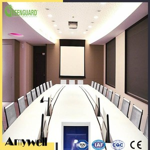 Amywell Waterproof office furniture meeting table solid hpl conference table