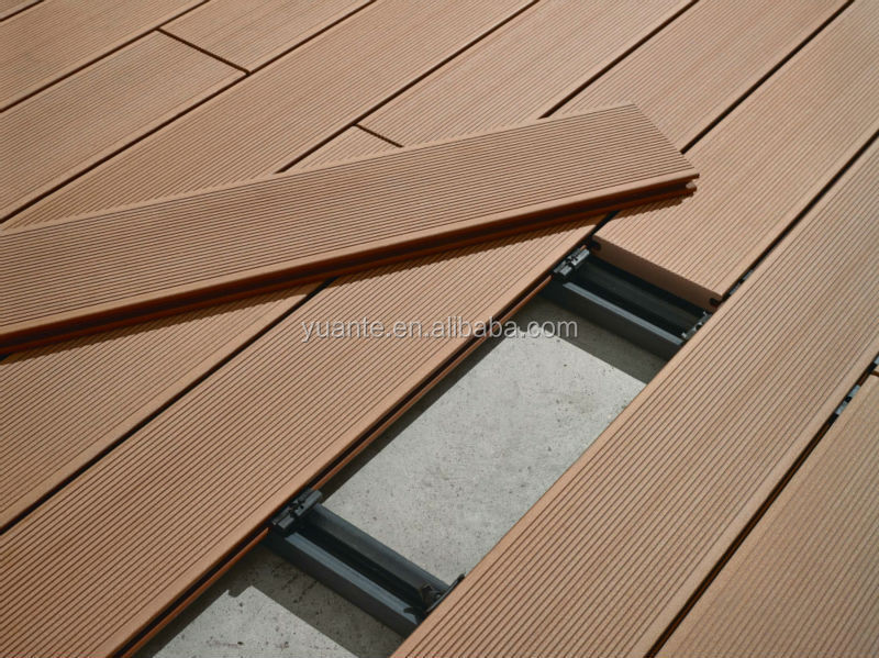 Cheaper & Good Quality Outdoor Wood Plastic Composite/WPC Hollow Deck <strong>Flooring</strong>