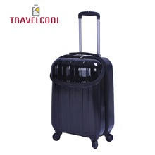 china supllier new style pc travel luggage with 360-degree spinning wheel (DC-9917)