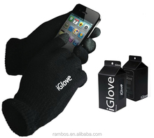 Gift Winter Warm Touch Screen Knitted Glove iGlove Touch Screen with Retail Package