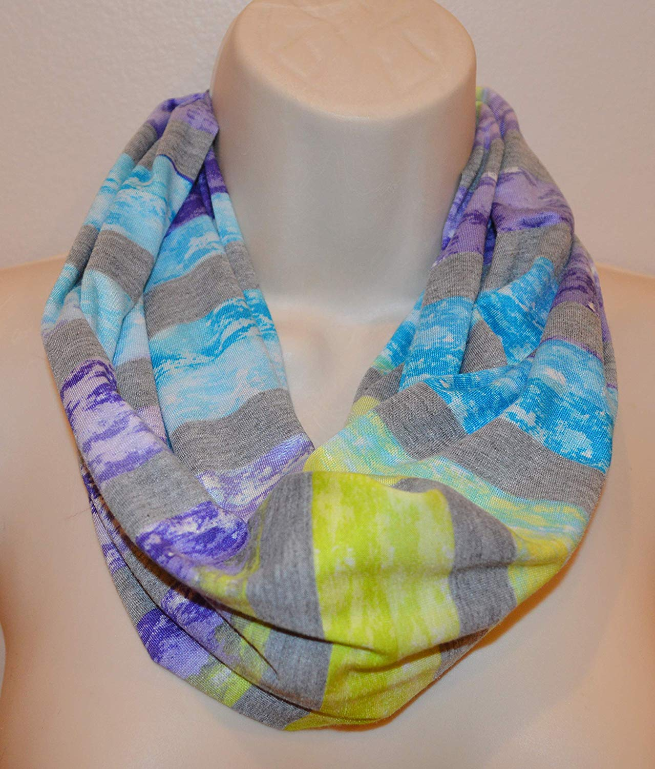 a80a0a87e Color:silk scarf. Get Quotations · printed infinity scarf, loop, women/girl  infinity scarf, spring scarf, summer