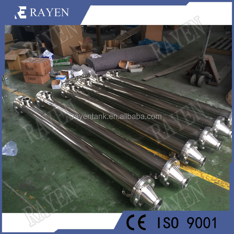 stainless steel tube heat exchanger shell and tube heat exchanger