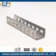 High strength galvanized superstrut channel
