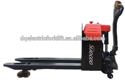 China manufacturer electric pallet truck stacker for warehouse
