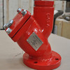 FM UL 300PSI Y Type Strainer With Flange End